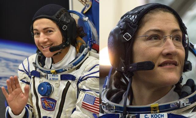 UPDATE: US makes history with first all-female spacewalk