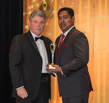 Shan Halamba, CEO of RIOCOCO, Wins Stevie Gold Award -- Executive of the Year -- at 12th Annual International Business Awards