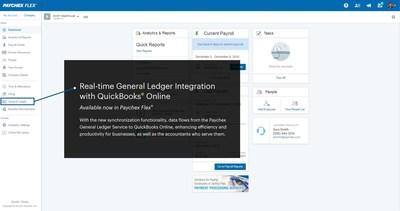 Paychex Introduces Simple and Easy-to-Use QuickBooks® Online Data
