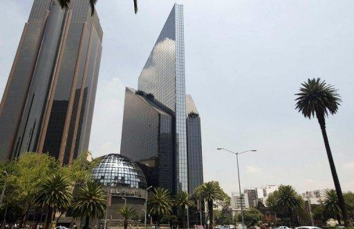 The Mexican Stock Exchange (BMV,) Mexico City, August 8, 2011, Mexico is becoming one of the world's 10 largest economies
