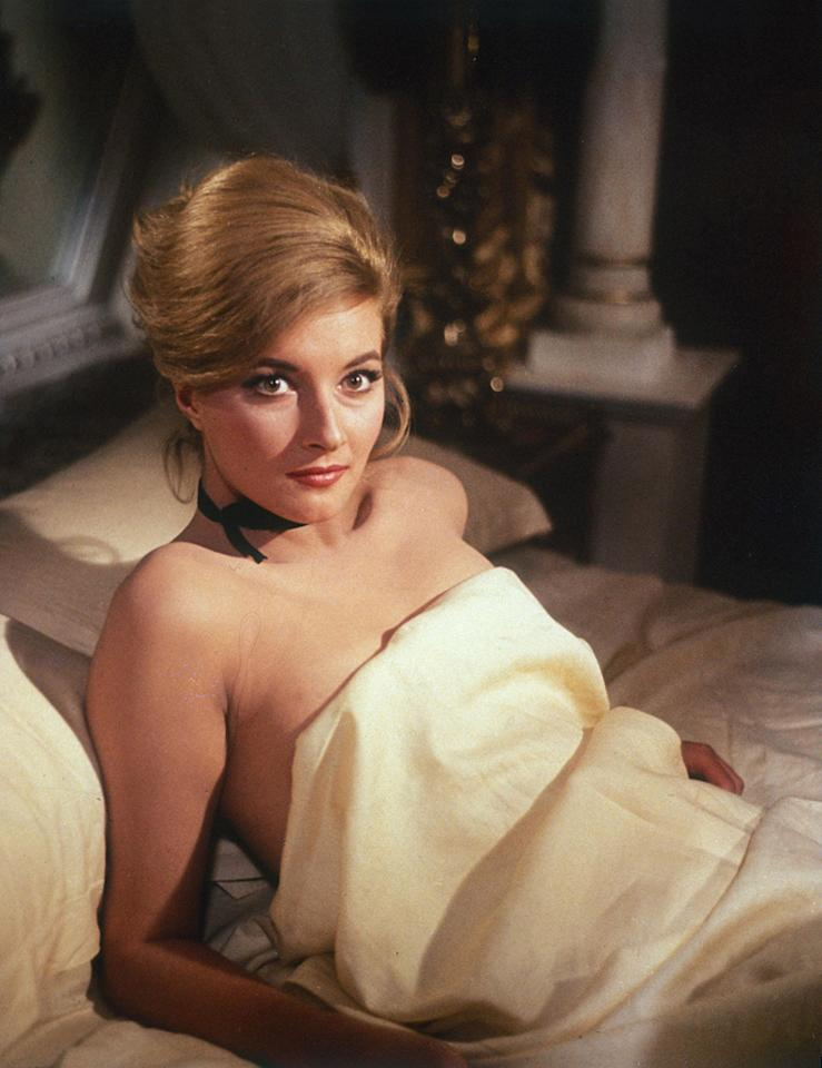 """TATIANA ROMANOVA   MOVIE: <a href=""""http://movies.yahoo.com/movie/1800068321/info"""">From Russia With Love</a>  ACTRESS: <a href=""""http://movies.yahoo.com/movie/contributor/1800057592"""">Daniela Bianchi</a>  ALLEGIANCE: SPECTRE agent, but she shoots her boss to save 007.  LAST SEEN: Making out with Bond in a gondola in Venice.  SPECIAL SKILLS: Ballet dancing, stealing Soviet codes, seducing MI6 agents."""