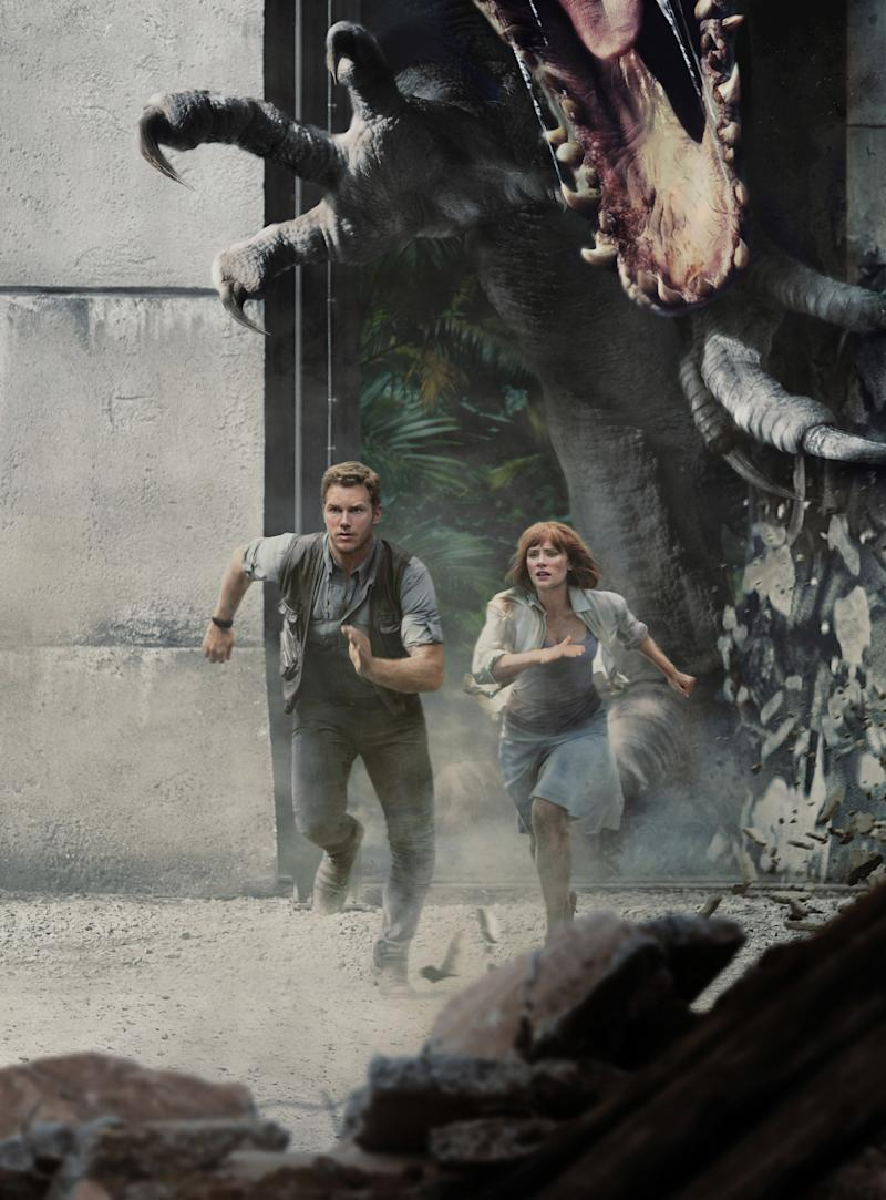 f39b120f929bf Chris Pratt and Bryce Dallas Howard to reprise their roles in  Universal apos s Jurassic World