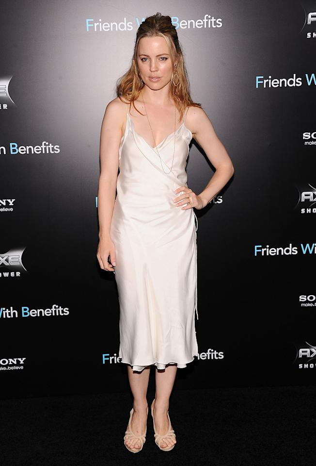 "<a href=""http://movies.yahoo.com/movie/contributor/1800346554"">Melissa George</a> at the New York City premiere of <a href=""http://movies.yahoo.com/movie/1810167524/info"">Friends With Benefits</a> on July 18, 2011."