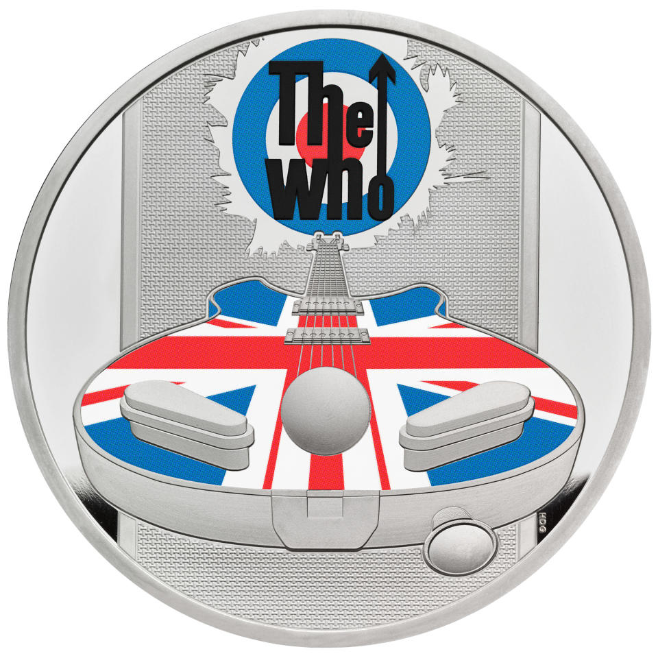 The Who coin