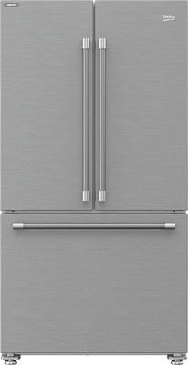 Beko's new refrigerator is exquisitely designed for counter depth installation, has a fingerprint-proof exterior, and offers a new sleek interior stainless rear wall that helps stabilize temperatures.