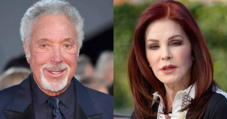 Sir Tom Jones had feared he'd never find love again after the death of his wife, Linda (Copyright: Getty/Karwai Tang/Noel Vasquez)
