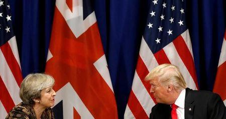 Trump Plans to Visit UK Later This Year, May's Office Says