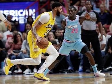 NBA: Anthony Davis scores 33 points to help Lakers down Heat; James Harden stars in Rockets win over Magic