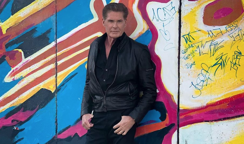"""David Hasselhoff shares cover of The Jesus and Mary Chain's """"Head On"""": Stream"""