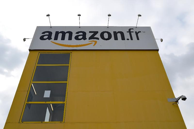 Amazon's global ambitions have led to expansion as far as Australia and India as well as France, with a French distribution center pictured here (AFP Photo/GUILLAUME SOUVANT)