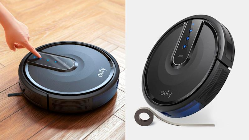 This robot vacuum will quietly clean your home. Just ask Alexa to start a cycle.