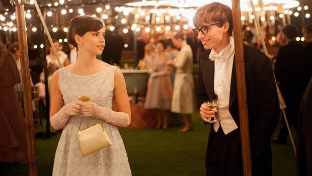<p> The Theory of Everything tells the tale of a clever young man who falls in love and then finds out he has motor neuron disease. James Marsh's film captures the heart-breaking moments Stephen Hawkins' body gives up on him, while his mind remains sharp, with stunning skill leaving audiences around the world in awe. Eddie Redmayne's impressive performance, both physically and emotionally, helped him win the Best Actor Oscar over his more experienced peers in this beautiful biopic. </p>