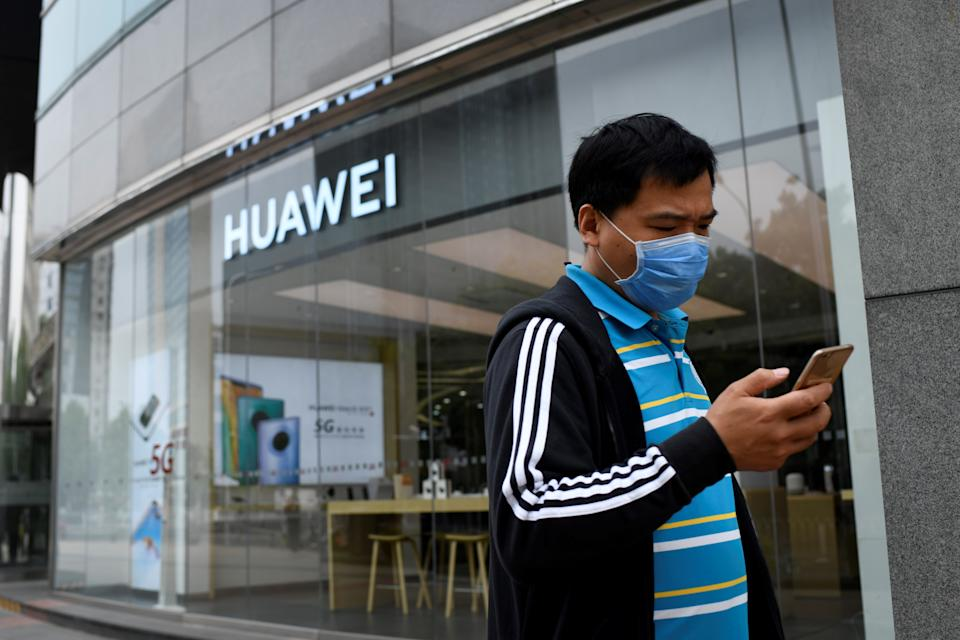 Huawei's involvement in UK 5G networks will be reduced (Getty)