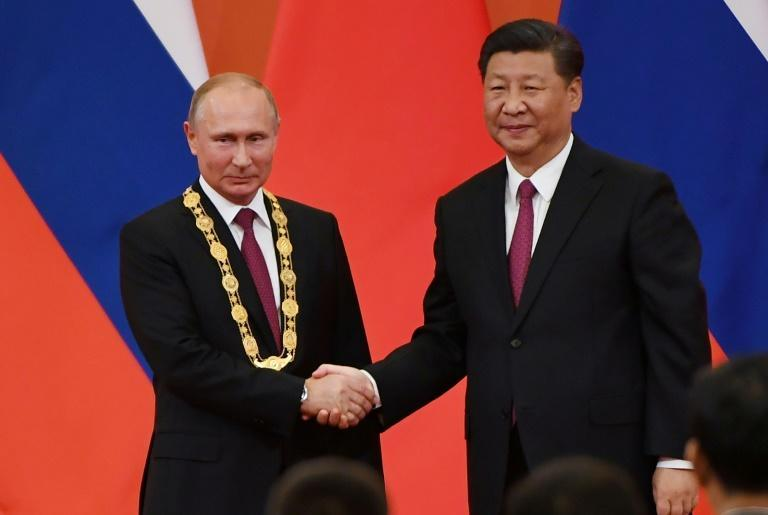 Putin and Xi have forged closer ties as US President Donald Trump has labelled both countries economic rivals