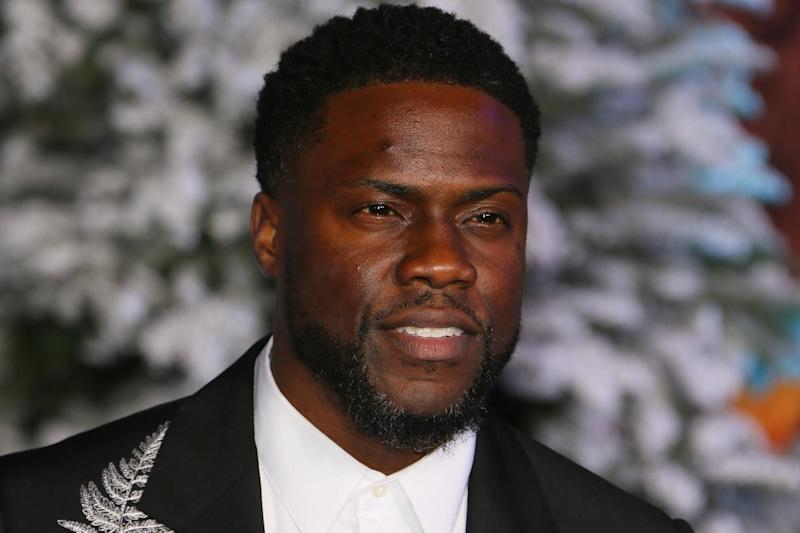 Kevin Hart at the world premiere of 'Jumanji: The Next Level' at the TCL Chinese theatre in Hollywood on 9 December 2019: JEAN-BAPTISTE LACROIX/AFP via Getty Images