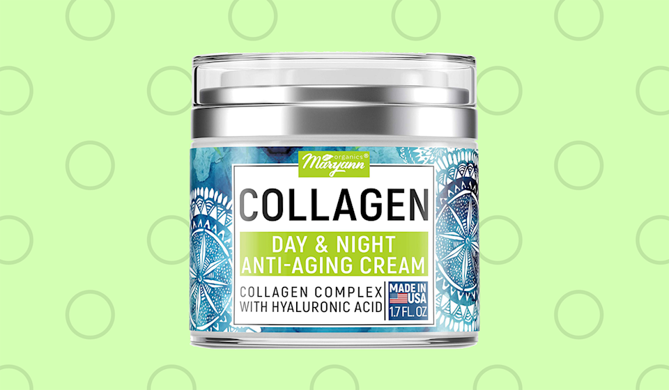 The good stuff: This anti-aging collagen cream has more than 8,800 five-star reviews — and it's on sale for just $13. (Photo: Amazon)