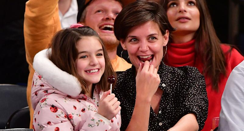 Katie Holmes has said her daughter Suri is a 'strong personality'. (Photo by James Devaney/Getty Images)