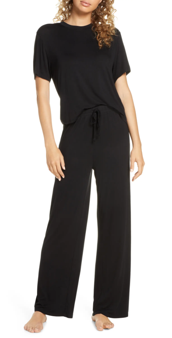 Honeydew Intimates All American Pyjamas in Black