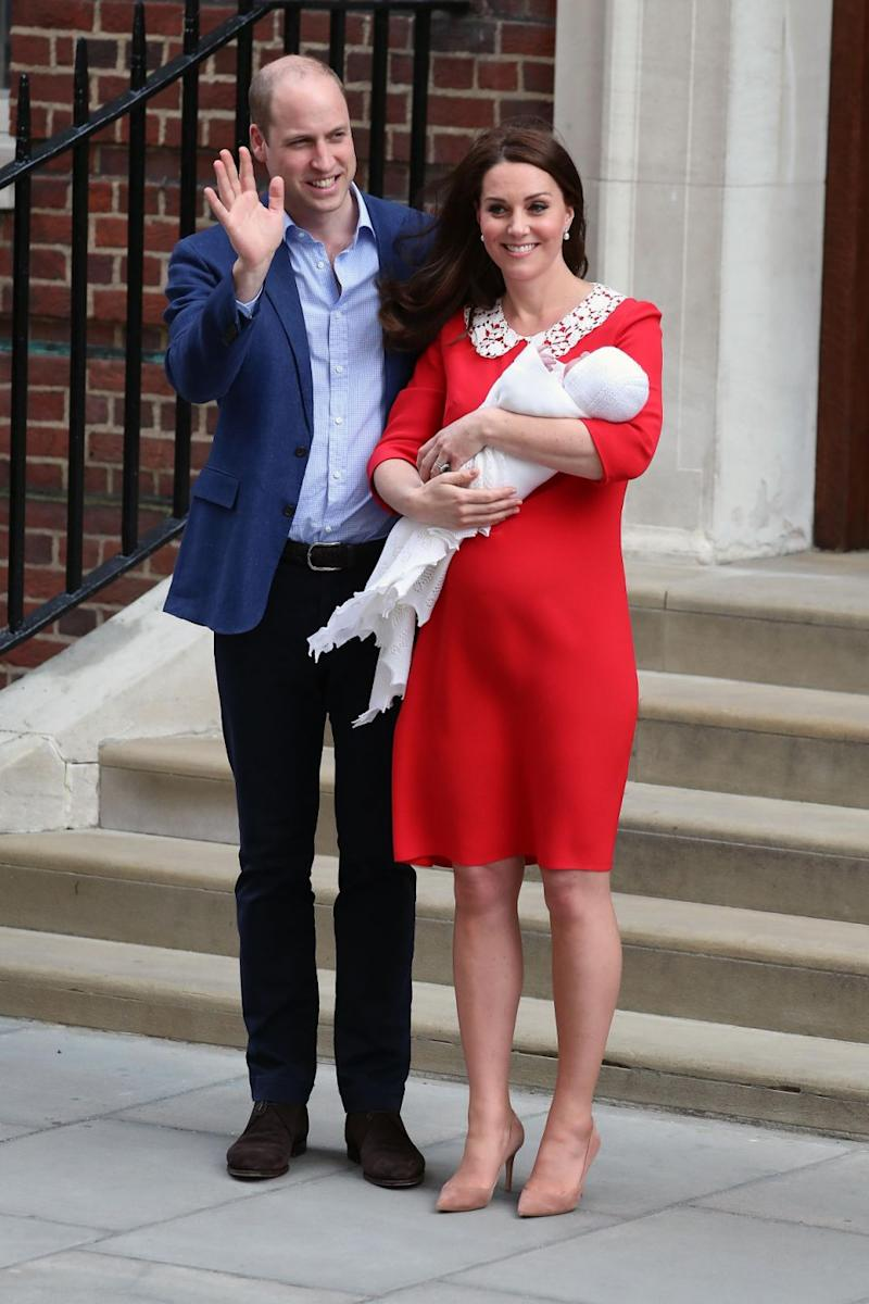 Kate Middleton's labour took longer this time around. Photo: Getty Images