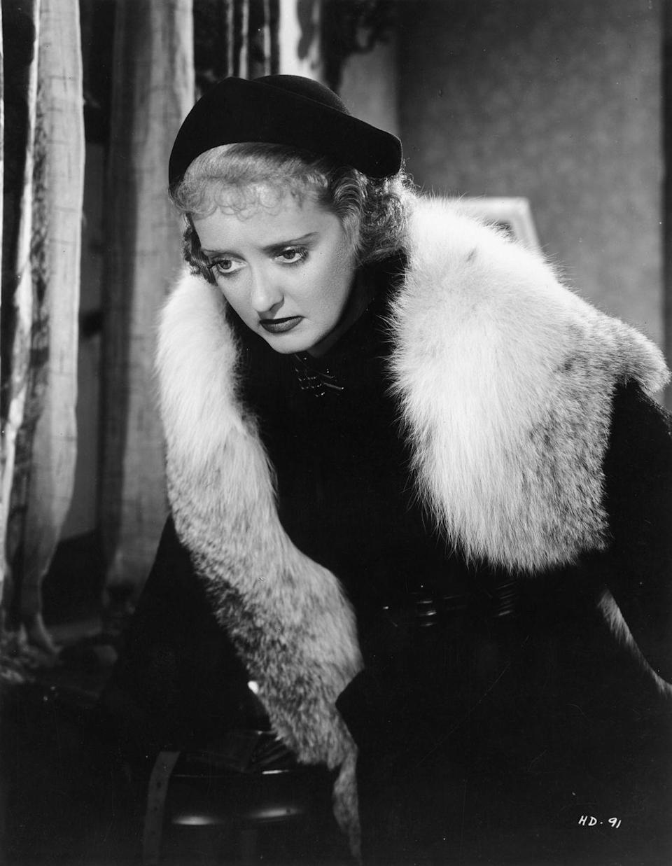 <p>Davis in another still from <em>Dangerous</em>, the movie that would win her her first Academy Award.</p>