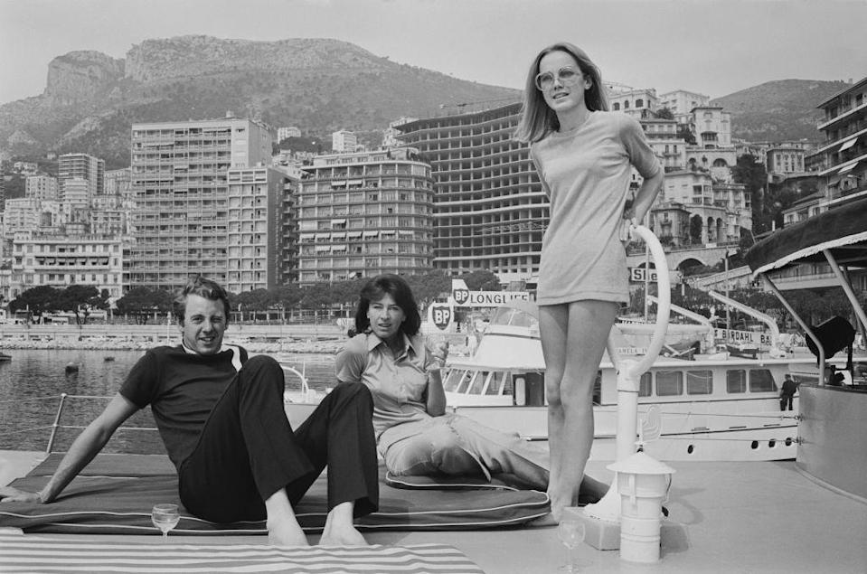 """<p>The 1968 Monaco Grand Prix drew in crowds from all over making <a href=""""https://www.visitmonaco.com/en"""" rel=""""nofollow noopener"""" target=""""_blank"""" data-ylk=""""slk:Monte Carlo"""" class=""""link rapid-noclick-resp"""">Monte Carlo</a> a yacht and car lover's paradise. </p>"""