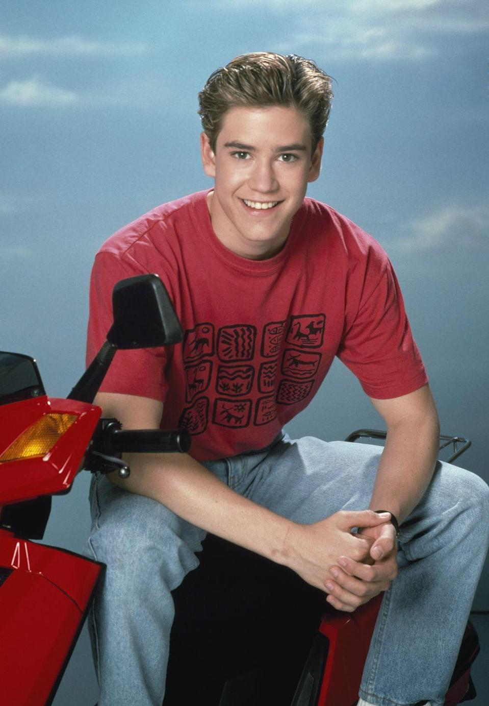 <p><em>Saved by the Bell</em> would be nothing without Mark-Paul Gosselaar as the ever-so-charming Zack Morris. The idea of someone else ending up with Kelly Kapowski sends shivers down my spine. </p>