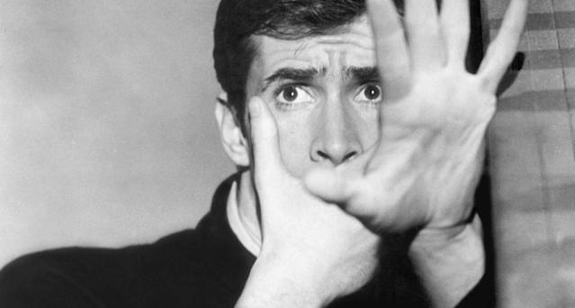Anthony Perkins as Norman Bates in <em>Psycho</em>. (Photo: Everett Collection)