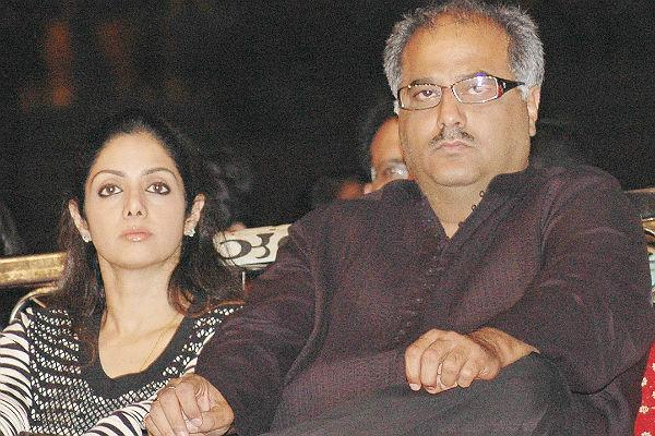 """I fell in love with Sri (Sridevi) when I watched her Tamil film during the late 1970s. After watching her film, I wanted to know more about her,"" Kapoor told reporters while sharing the inside story, which has been kept under wraps so far, much to the embarrassment of his wife.  ""I had especially gone to Chennai at her house to meet her, but she was shooting in Singapore. I returned to Mumbai disheartened,"" he added.  He was accompanying Sridevi, who was in the capital to attend the India Today Women Summit 2013."