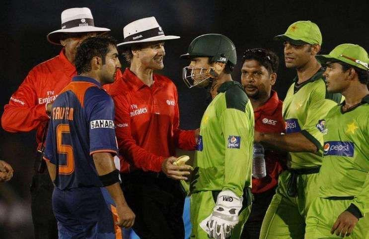 Kamran Akmal involved in quite a few altercations with the Indian team