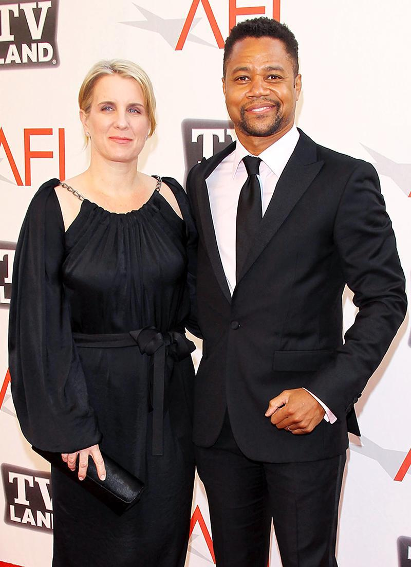"""<p>Oscar-winning actor Cuba Gooding Jr. and the high school sweetheart he married in 1994, Sara Kapfer, officially ended things this year. Back in 2014, Kapfer filed for legal separation, citing """"irreconcilable differences,"""" but it was Gooding who <a rel=""""nofollow"""" href=""""https://www.yahoo.com/celebrity/cuba-gooding-jr-files-divorce-031054914.html"""" data-ylk=""""slk:filed for divorce;outcm:mb_qualified_link;_E:mb_qualified_link;ct:story;"""" class=""""link rapid-noclick-resp yahoo-link"""">filed for divorce</a> in January. They share two adult sons and a daughter, Piper, who was 10 when Gooding filed. He asked for joint custody and agreed to spousal support, although he wanted to keep any money he earned after the separation. (Photo: Alberto E. Rodriguez/Getty Images) </p>"""