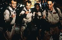 """<p><em>Ghostbusters</em> was an unusual concept at the time—a <em>comedy</em> about <em>ghosts</em>?—but it became a smash hit that inspired several spin-offs. You can still see its impact today in films like <em>Zombieland</em> and shows like <em>Stranger Things</em>.</p> <p><em>Available to rent on</em> <a href=""""https://www.amazon.com/Ghostbusters-Bill-Murray/dp/B000PEX1IE"""" rel=""""nofollow noopener"""" target=""""_blank"""" data-ylk=""""slk:Amazon Prime Video"""" class=""""link rapid-noclick-resp""""><em>Amazon Prime Video</em></a>.</p>"""