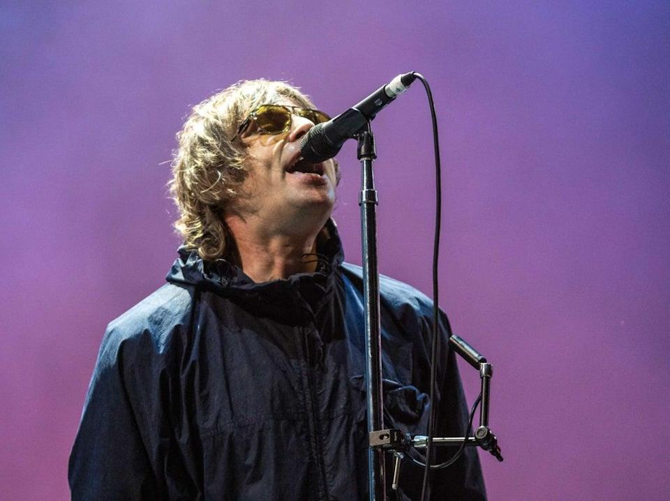 Glory days: Liam Gallagher turns back the clock with an Oasis-heavy set  (Shutterstock)
