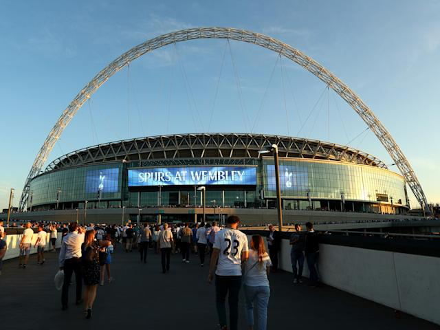 Spurs have a poor record at Wembley: Getty