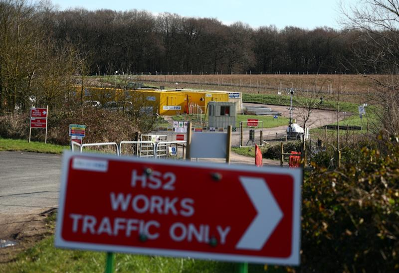 It was discovered by archaeologists working on the HS2 project in Buckinghamshire (Reuters)