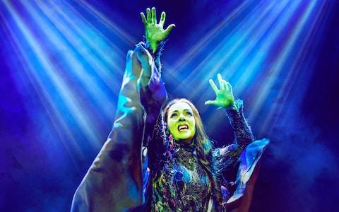 Wicked at the Apollo Victoria Theatre