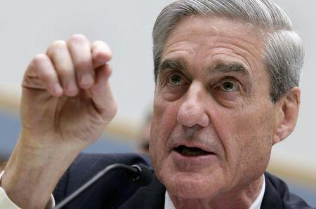 FILE PHOTO: FBI Director Robert Mueller testifies before the House Judiciary Committee hearing on Federal Bureau of Investigation oversight on Capitol Hill in Washington, DC, U.S., June 13, 2013. REUTERS/Yuri Gripas/File Photo