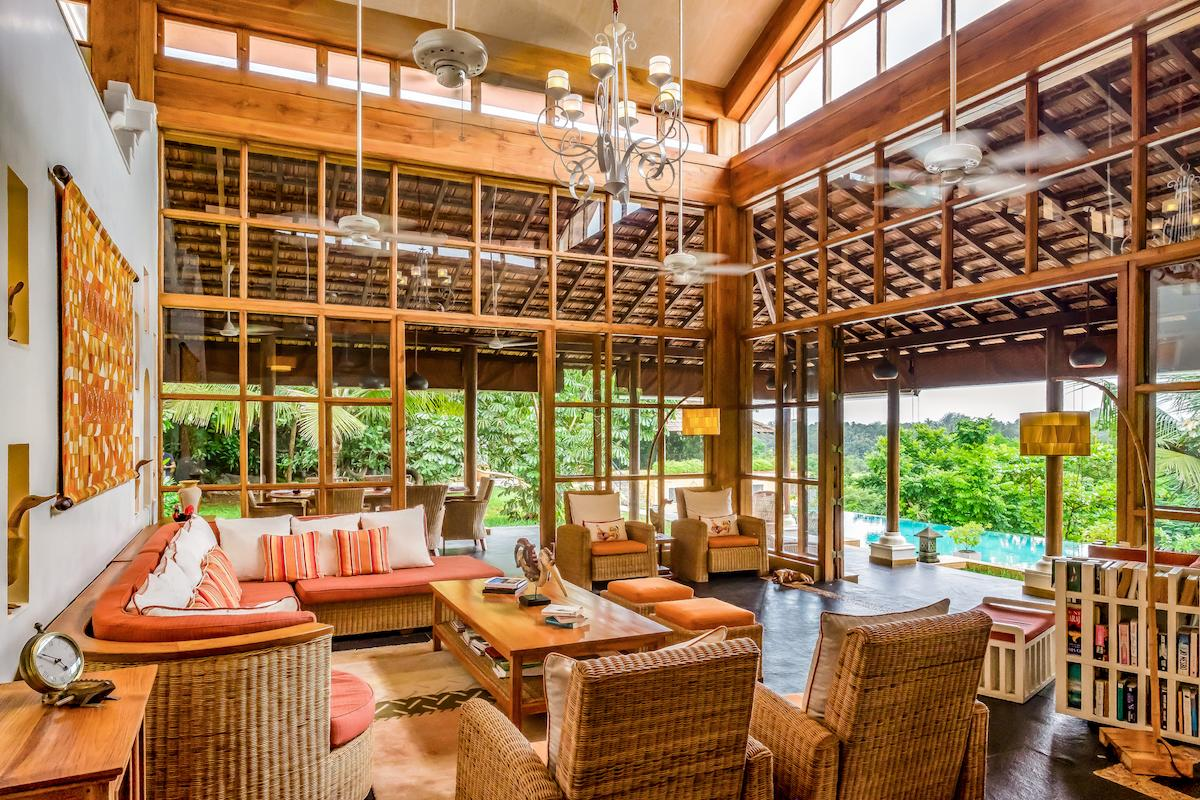<p>Summertime villa: Set in two acres of landscaped gardens on a hilltop in Calangute, Summertime is a plush three-suite villa that has an intimate charm that appeals to you from the moment you walk in. </p>