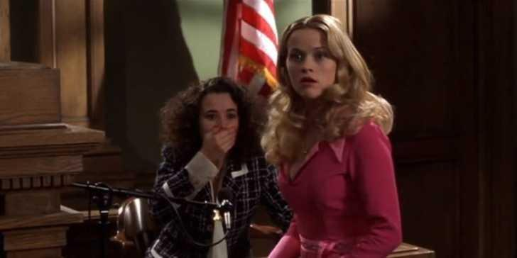legally blonde witness stand elle woods
