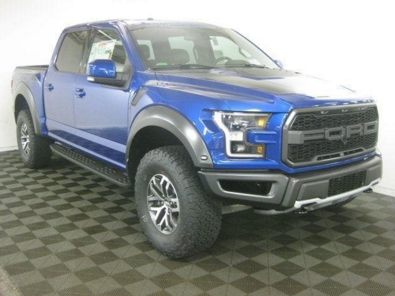 Ford F-150 Raptor For Sale >> 2017 Ford F150 Svt Raptor Supercab 4x4 In Lightning Blue A65364 All