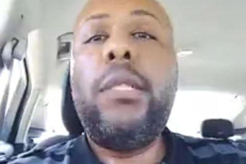 Police say the Cleveland Facebook killer Steve Stephens has been found dead after a 'brief' police pursuit: Facebook