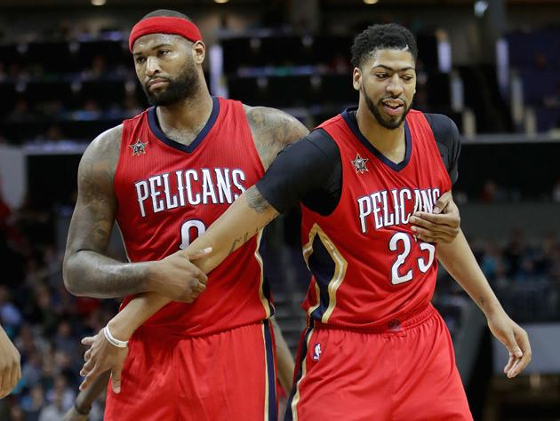 It s fair to wonder if DeMarcus Cousins is holding Anthony Davis back.  (Getty Images) 6cd8511ec