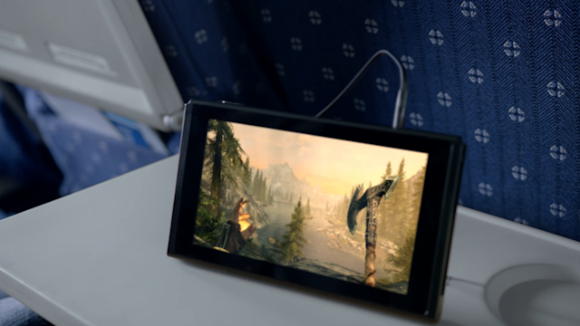 Nintendo Switch flight ban