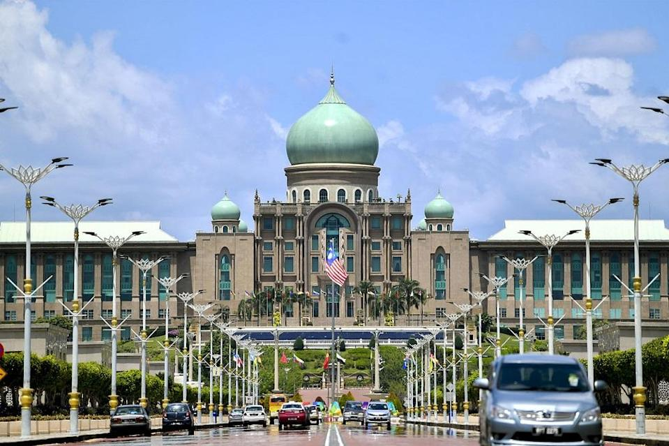 A general view of the Perdana Putra building, which houses the Prime Minister's Office, in Putrajaya February 25, 2020. — Bernama pic
