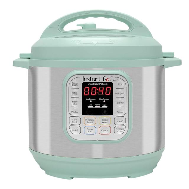 best pressure cooker instant pot review colored