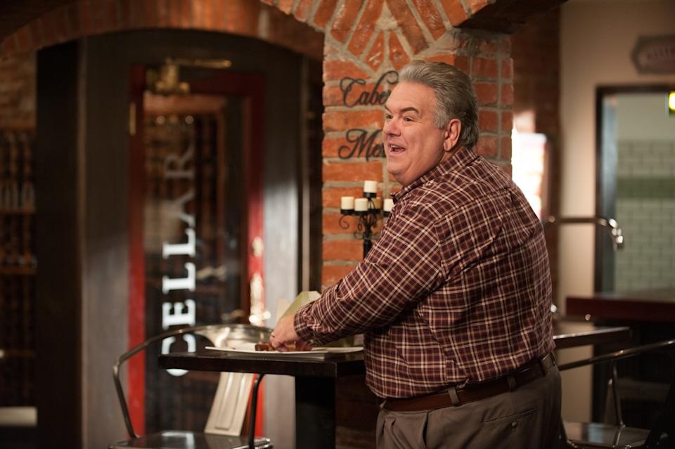 """PARKS AND RECREATION -- """"Save JJ's"""" Episode 707 -- Pictured: Jim O'Heir as Jerry Gergich -- (Photo by: Colleen Hayes/NBCU Photo Bank/NBCUniversal via Getty Images via Getty Images)"""