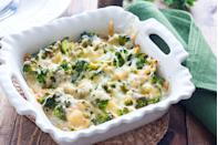 <p>Is there anything cheese can't fix? If you're really struggling with the taste of veggies, sprinkle some cheese over them and let it get nice and melty for ooey gooey deliciousness. Cheese goes great with any vegetable, but especially broccoli, cauliflower, potatoes, asparagus, or zucchini. </p>