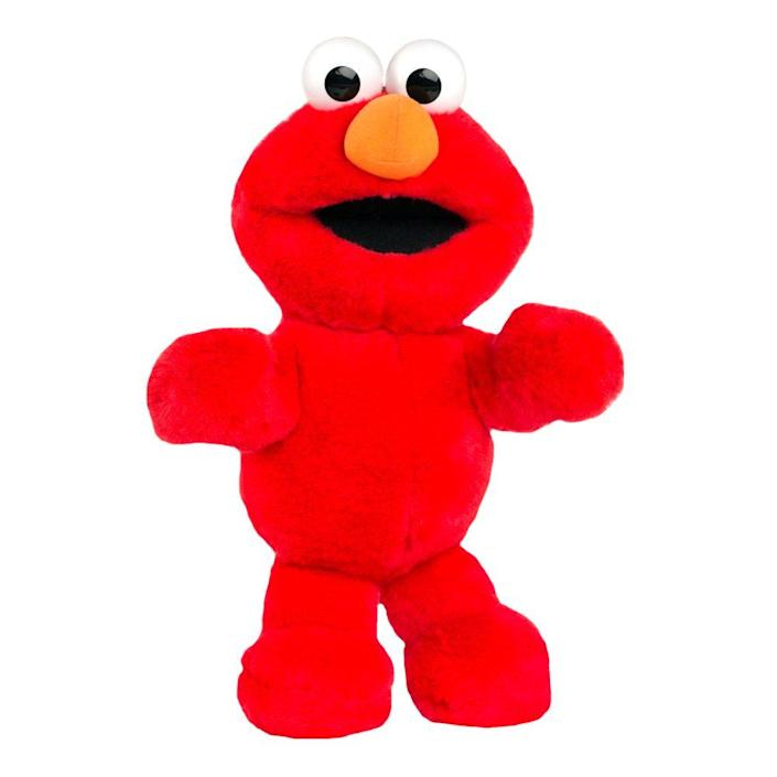"""<p><a class=""""link rapid-noclick-resp"""" href=""""https://www.amazon.com/Playskool-Friends-Sesame-Street-Tickle/dp/B01N4RB164?tag=syn-yahoo-20&ascsubtag=%5Bartid%7C10063.g.34738490%5Bsrc%7Cyahoo-us"""" rel=""""nofollow noopener"""" target=""""_blank"""" data-ylk=""""slk:BUY NOW"""">BUY NOW</a><br></p><p>Tickle Me Elmo was the hottest item on the shelves during the holiday season of 1996. The original idea was a stuffed monkey that giggled when you tickled it, but it never reached success. The creator, Ron Dubren, was approached by Tyco to develop the same laughing technology for Elmo as part of their newly licensed <em>Sesame Street</em> toys. Stores quickly sold out, and parents were willing to pay big bucks to get their hands on one for their child.</p>"""