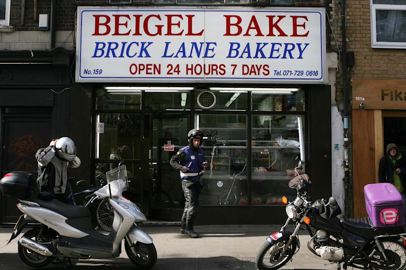 Members of the Cohen family ran the famous Beigel Bake bakery on Brick Lane (Rebecca Reid/Evening Standard)