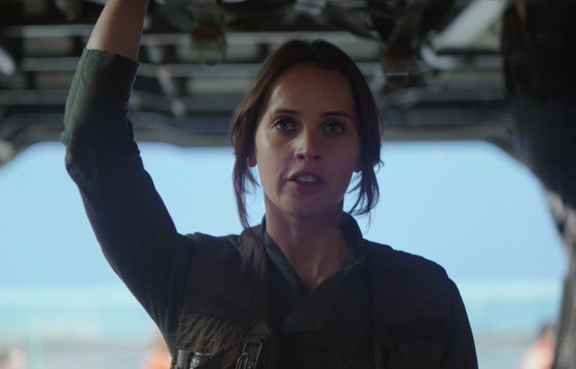 Felicity Jones in Rogue One (Credit: Disney/Lucasfilm)