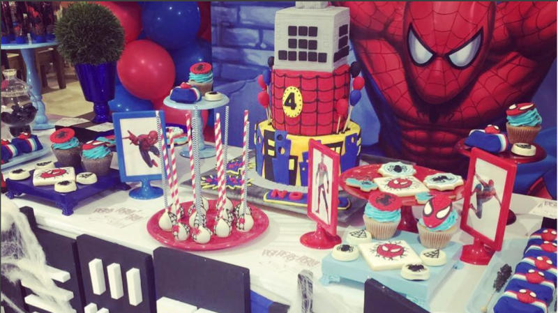 Michael Bublé's Son Turned 4 With A Rad Spider-Man Party